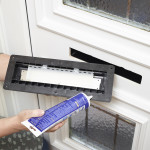 Fit an EcoFlap quickly and simply with silicone sealant